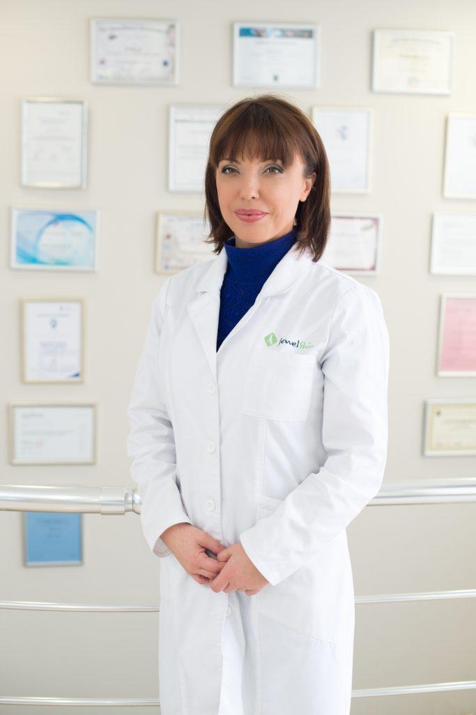 ИНТЕРВЮ с д-р Анелия Здравкова, дерматолог Jewel skin clinic